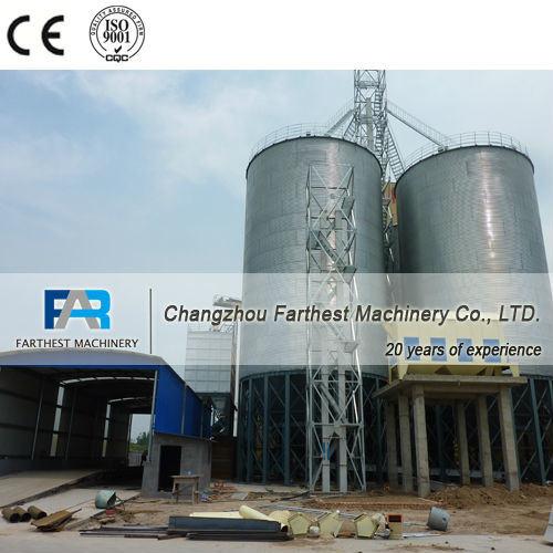 Corrugated Galvanized Steel Corn Storage Silos