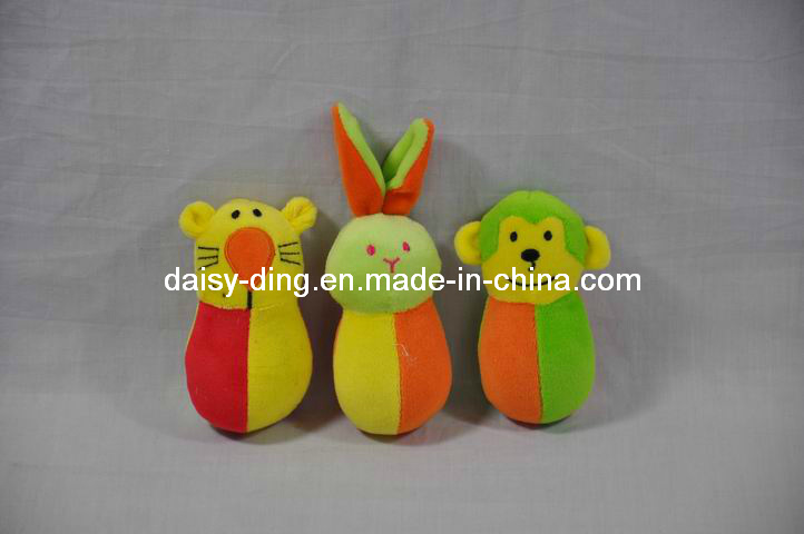 Small Baby Monkey Toy with Colorful Soft Material