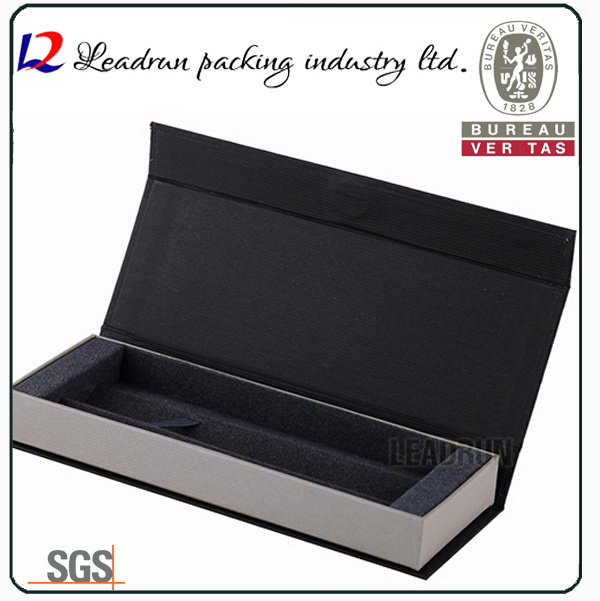 Wood Packaging Pencil Gift Pen Box Paper Display Plastic Pen Box Packing Box Display Box (Ys19)