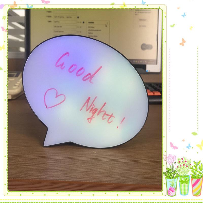 Gradient Ramp Display Bubble Light Box