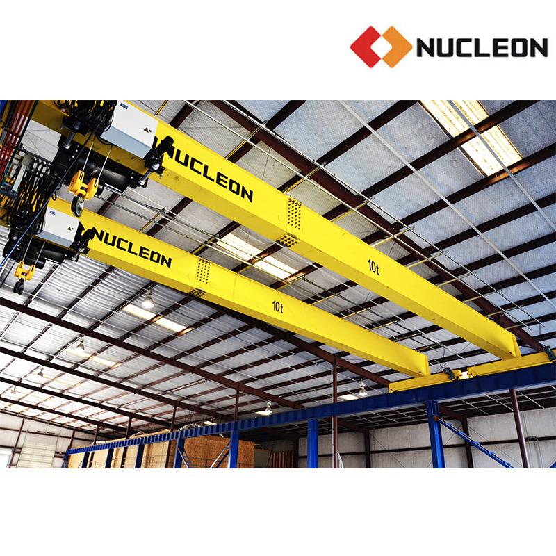 Nucleon Project in Australia Single Girder Overhead Crane 10 Ton