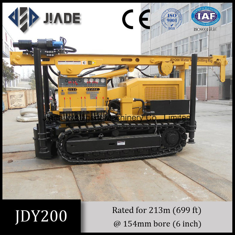 Jdy200 Quality Water Well Drilling Rig