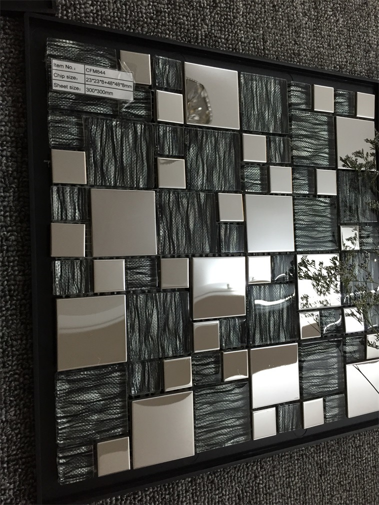 High Quality Fashion Design Metal Mosaic Tile
