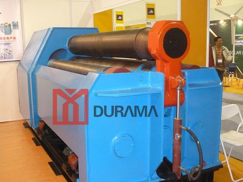 Heavy Duty Hydraulic CNC Four Roller Plate Rolling Machine