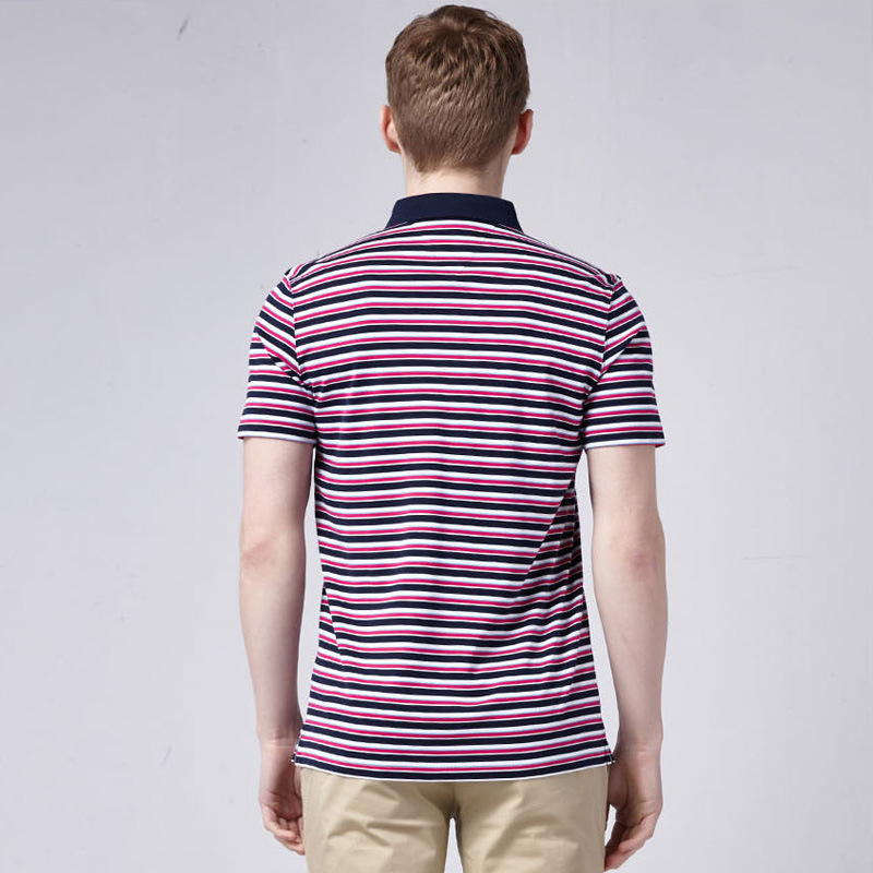 China Manufacturer Polo T Shirts for Men Soft and Breathable Men′s Polo Shirts Fitness Mans Polo