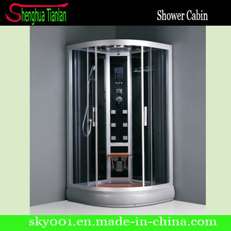 Black Room Computerized Cabin Bathroom Steam Shower (TL-8805)
