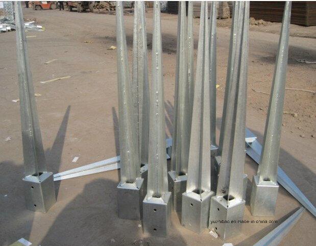 Hot DIP Galvanized Ground Spike, Ground Anchor