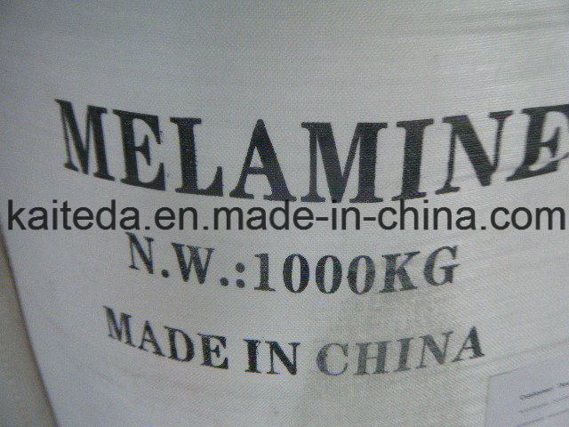 High Quality of Melamine 99.8% Min for Formaldehyde Resin