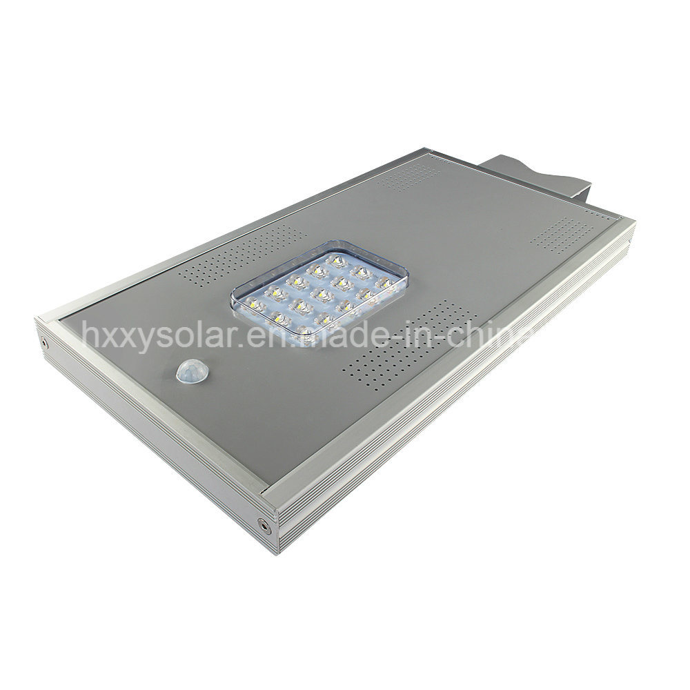Smart Outdoor LED Light 6W-100W Integrated Solar Street Light with Remote Control