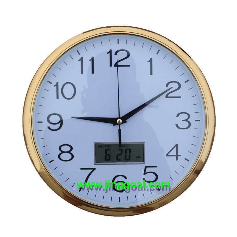 Calendar Wall Clock (JEC563)