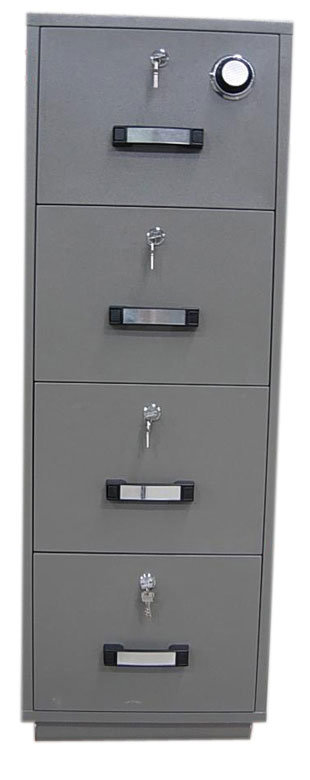 1 Hour Fire Resistant Filing Cabinet, Special Vertical Cabinet (680FRD-4014)