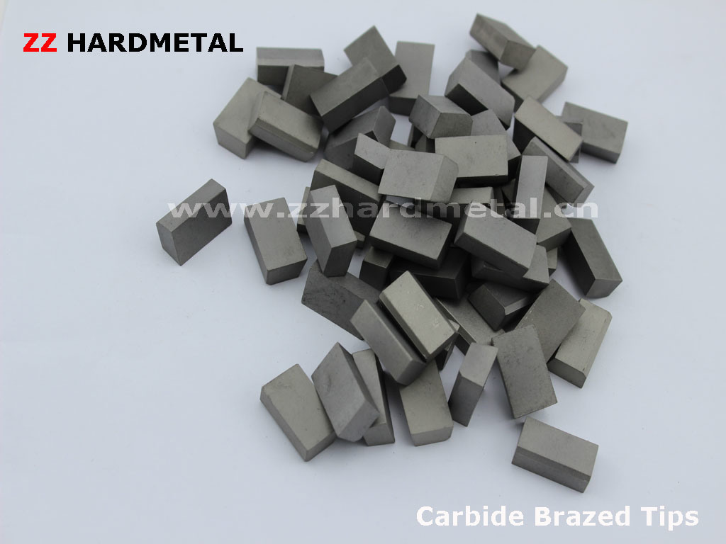 Tungsten Cemented Carbide Carbide Brazed Turning Tips A20 B20