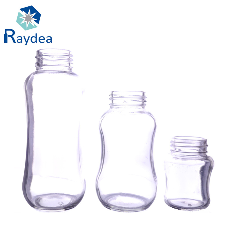 2oz Glass Baby Feeding Bottle with Standard Mouth
