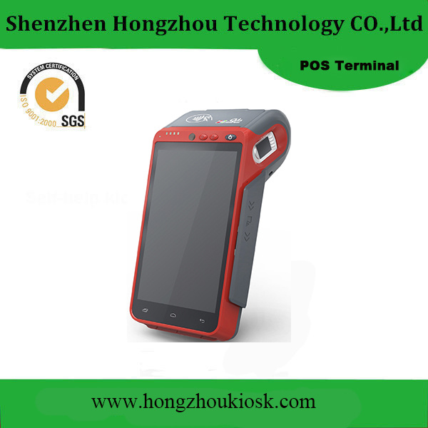 Portable Touch Screen Smart Handheld All in One Payment System POS Terminal