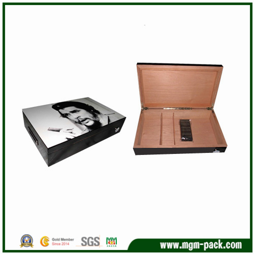 High Quality Solid Wood Cigar Humidor for Sale