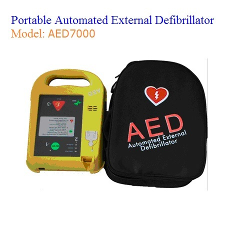 Portable Automated External Defibrillator (AED7000)