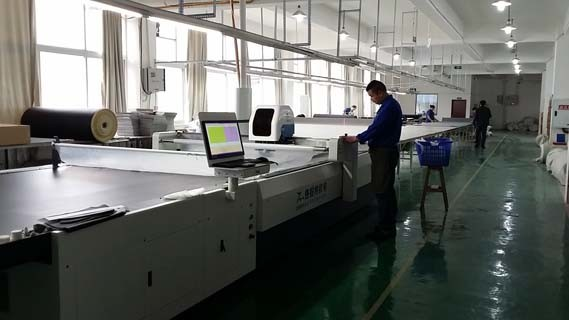 Single Layer Automatic Fabric Cutting Machine with Computer Control