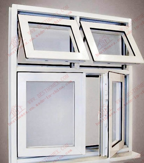 Professional Manufacturer of PVC Awning Window (BHP-CWP16)