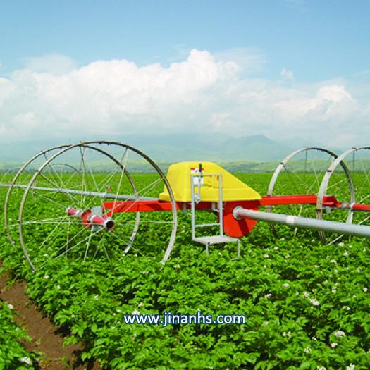 Rolling Wheel Sprinkler for Short Crops Irrigation