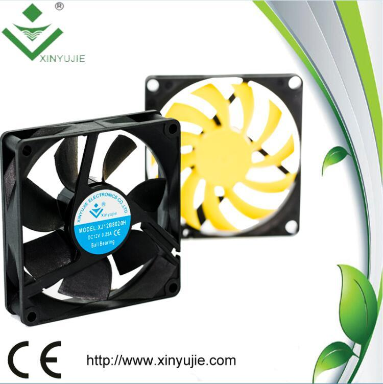 5V 12V Cooling Fan 80X80X20mm for LED Display Unit