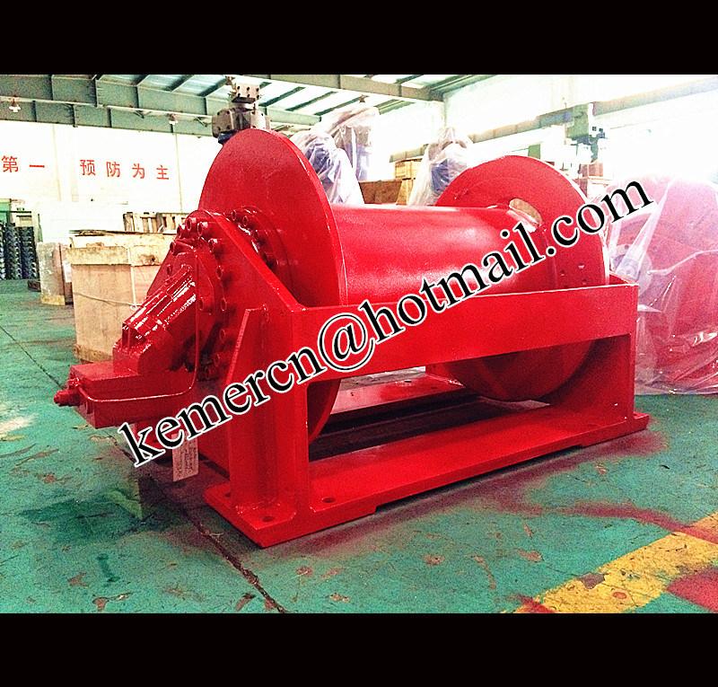 Custom Built Hydraulic Winch with High Speed