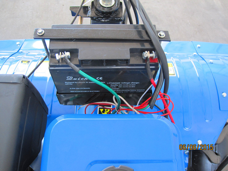 13HP Gasoline Rotary Tiller with Electric Start and Light