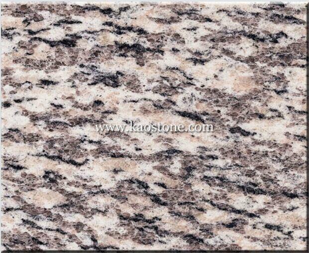 China Natural Tiger Skin Red Granite Tiles Photos