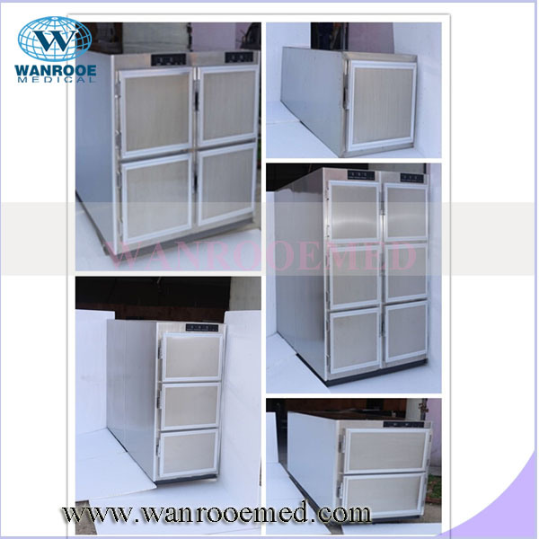 Stainless Steel Mortuary Refrigerator