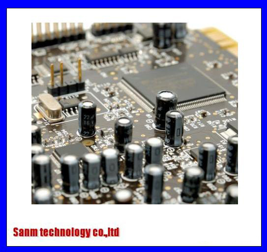 Lead Free Thru-Hole and Surface-Mount PCB Circuit Board Assembly