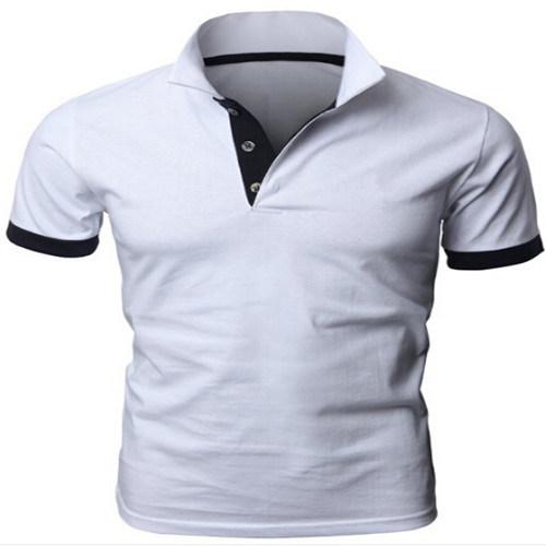 Custom 100% Cotton Mens Polo Shirt