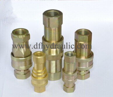Push and Pull Type Hydraulic Quick Coupling