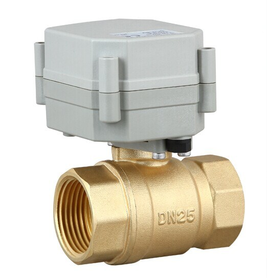 china 1 39 39 2 way brass motorized shut off water ball valve