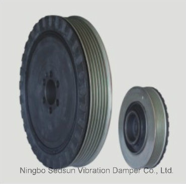 Torsional Vibration Damper / Crankshaft Pulley for FIAT 55187707