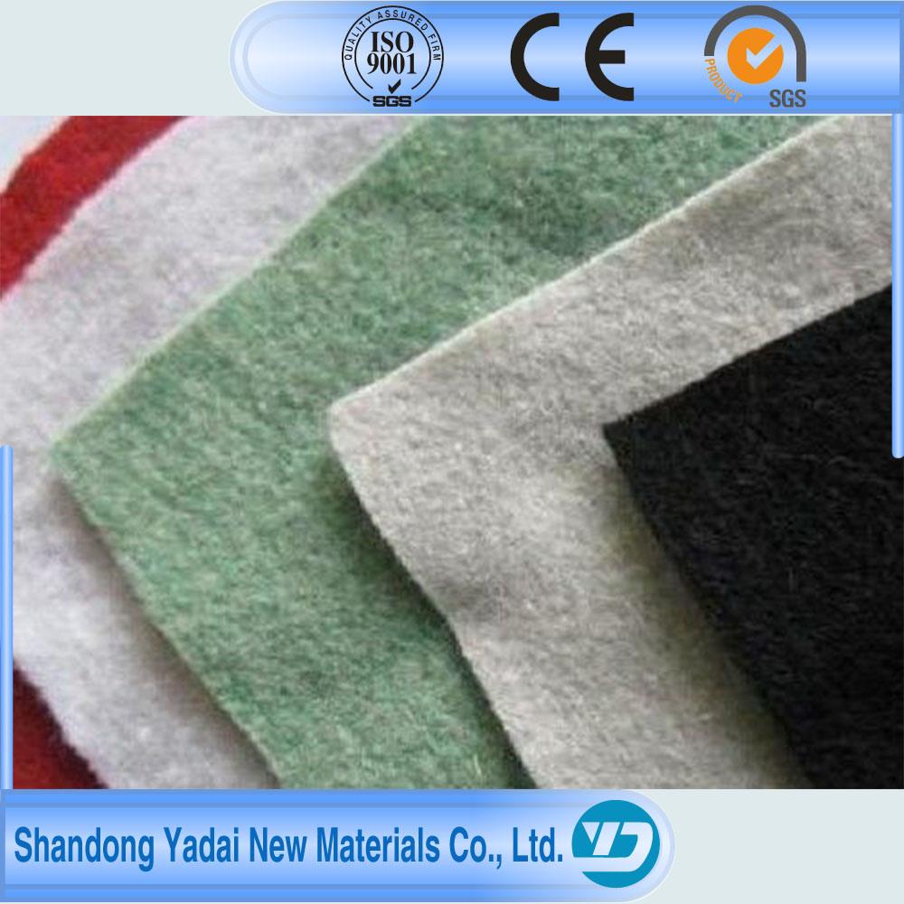 PP/Pet Short Fiber Nonwoven Geotextile Fabric Nonwoven Geotextile Textile