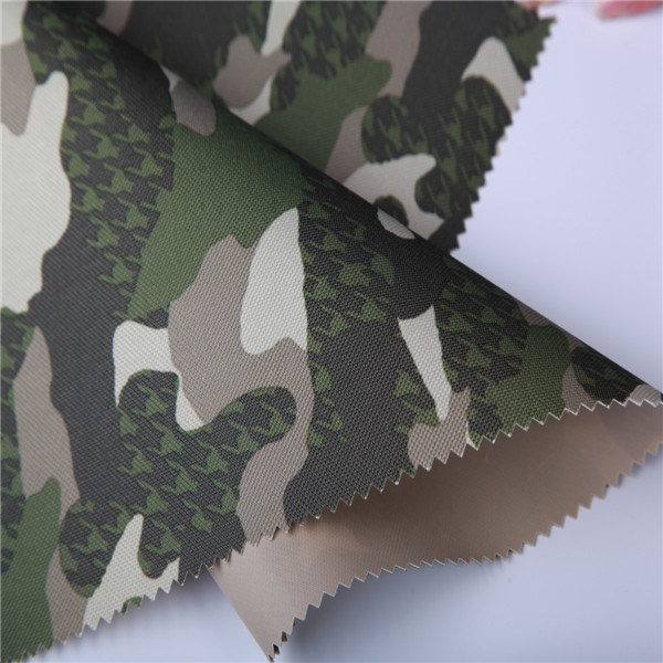 Pinpoint Yarn Dyed Digital Camouflage Print Oxford Fabric