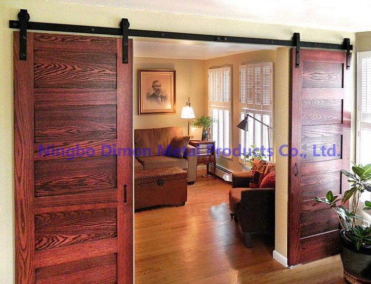 Wooden Sliding Door Hardware (DM-SDU 7201)