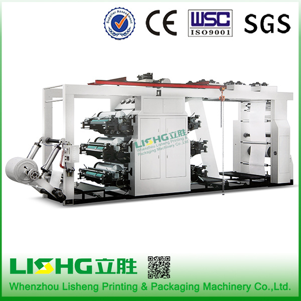 Six Colors High-Speed Ci Flexo Printing Machine