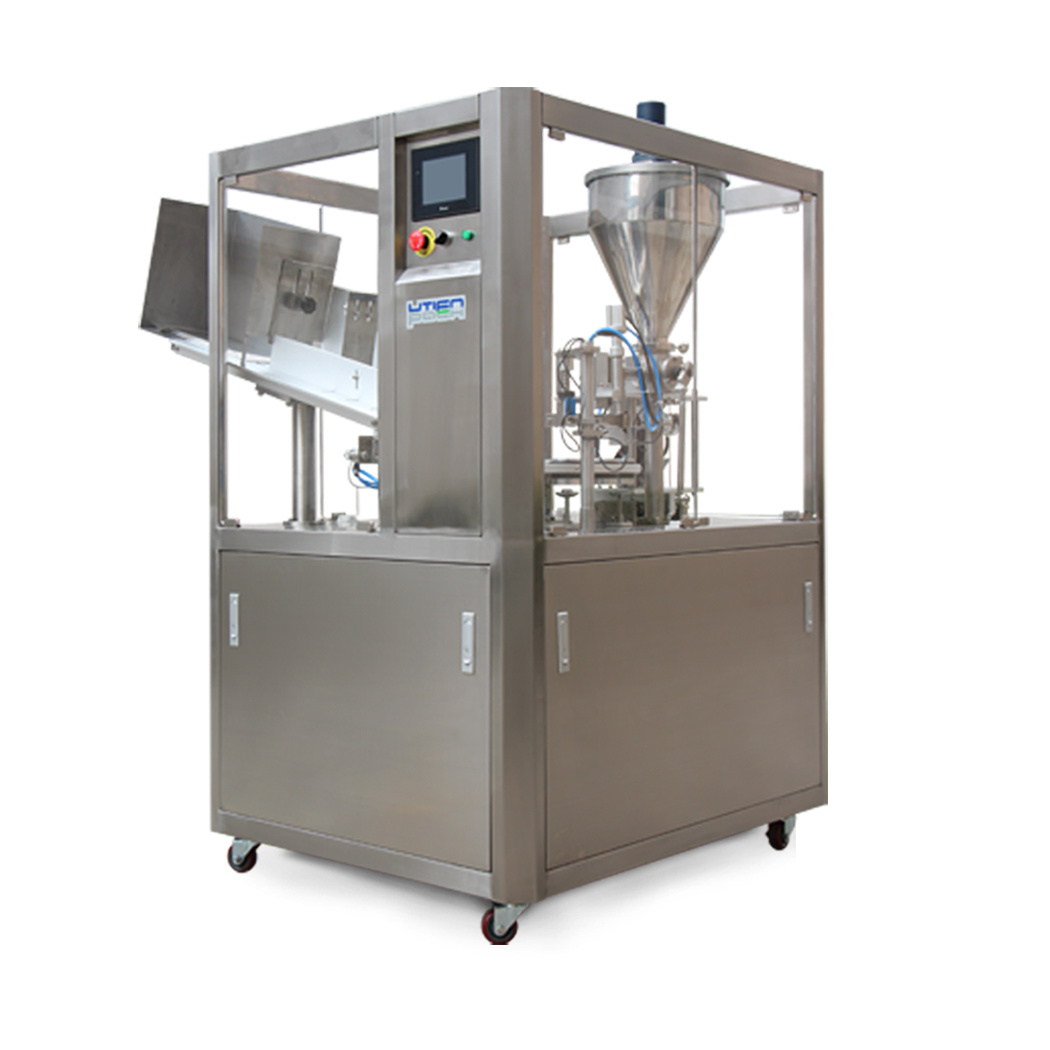 Automatic Ultrasonic Plastic Tube Filling Sealing Machine (DGF-25C)