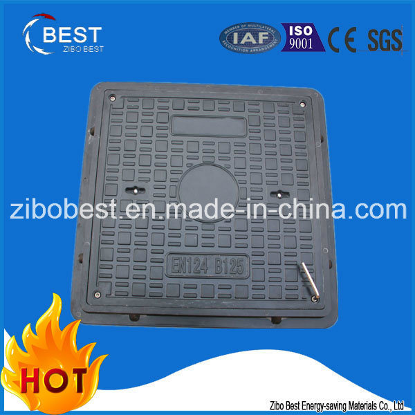 En124 Good Anti-Theft Composite Manhole Cover with Frame