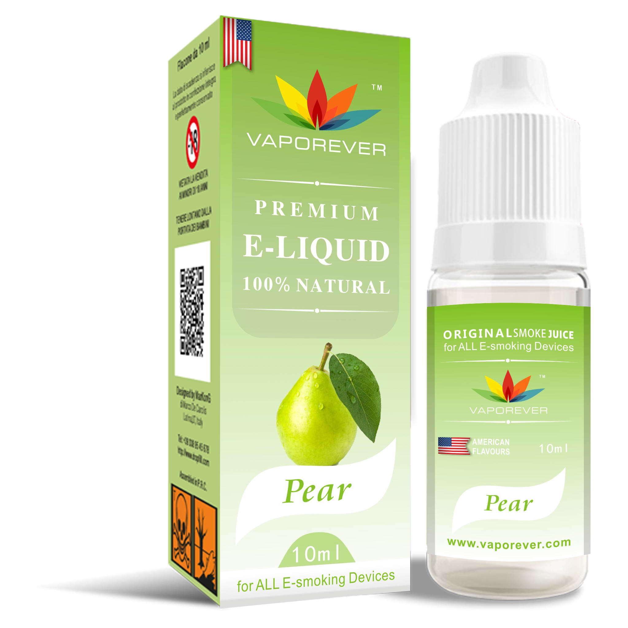 Pear Fruit Flavor Vapor Juice for E-Cig