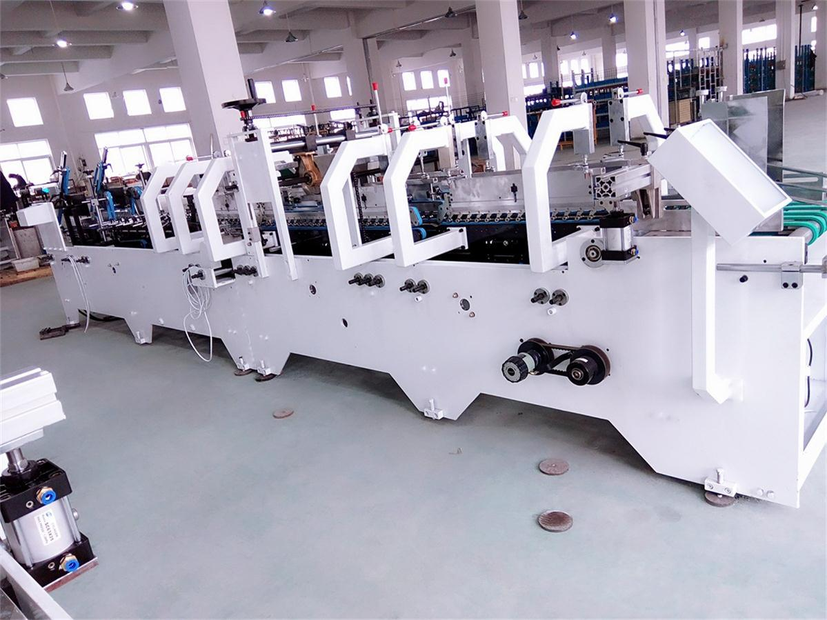 Automatic Packing Machine for Lock Bottom Box Making (GK-650CB)