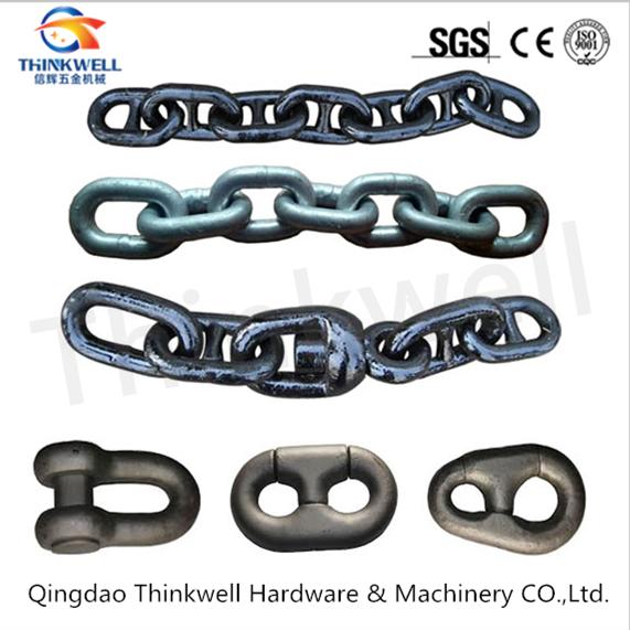 Marine Hardware Welded Steel Stud Link Anchor Chain