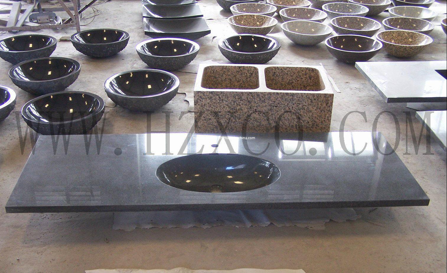 Hzx Granite Vanitytop, Countertop, Sink, Wash Basin