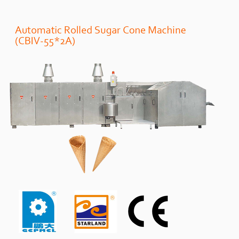 Automatic Rolled Sugar Cone Machine (CBIV-55*2A)