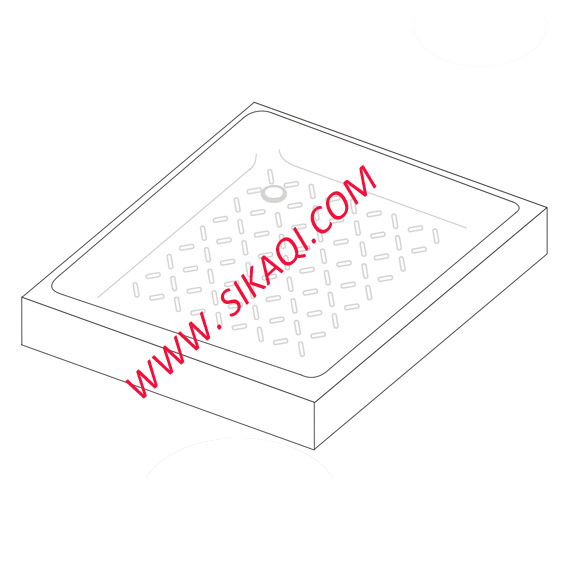Square Shower Trays with Size 700X700mm