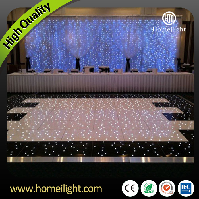 Free Shipping 12*12black and White LED Starlit Dance Floor DJ LED Sensitive Light for Wedding Party Decoration