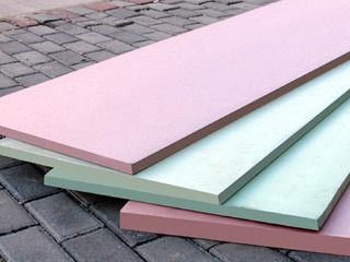 Extruded extruded foam insulation board - Polystyrene extrude isolation ...