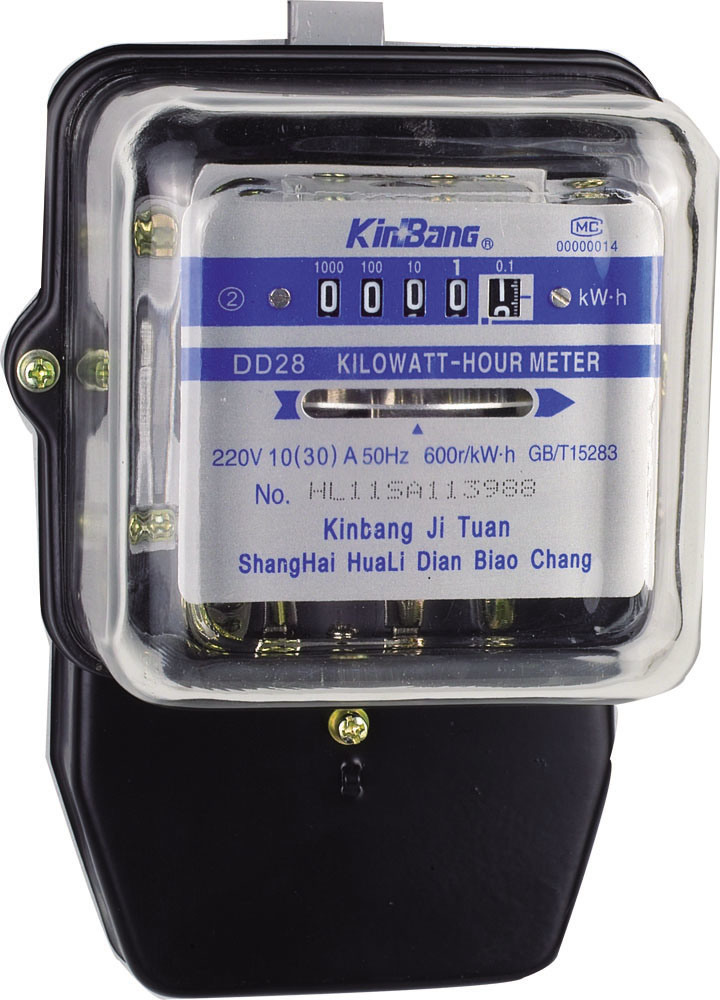 Single Phase Meter Mechanical : China single phase mechanical kwh meter