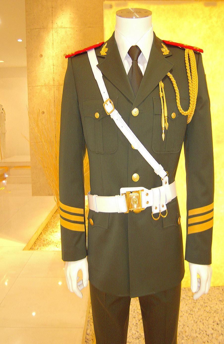 Military Uniform Ceremony Uniforms