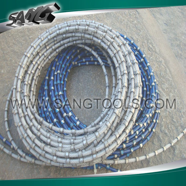 China Diamond Wire Saw for Marble and Granite CNC Wire Cut